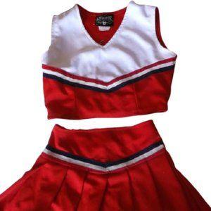 Cheerleader Set Fits Girl 10